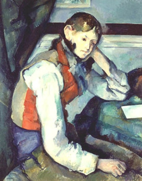 The Boy in a Red Waistcoast, 1889